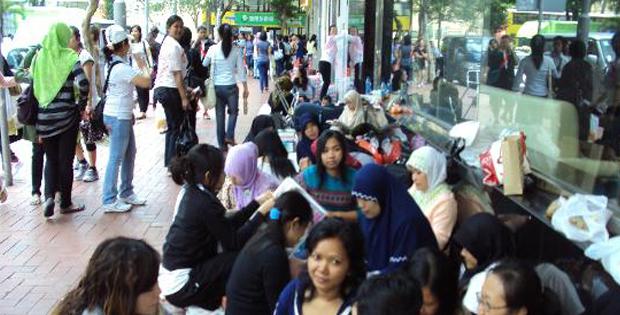 TKW di Hong Kong Alami Diskriminasi