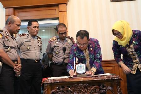 Jaring Calon Polisi Polres & Pemko Binjai Lakukan Pelatihan