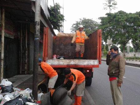 Lebaran, Volume Sampah Jaktim Tembus 1.870 Ton