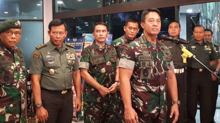 Istri Tebar Ujaran Kebencian di Medsos, Perwira TNI Dicopot