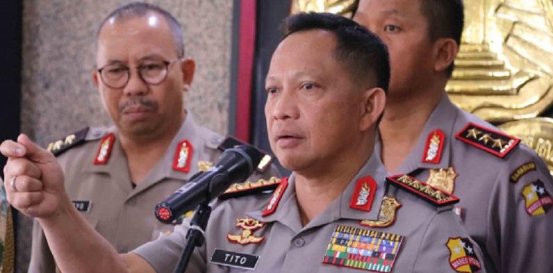 Kapolri Sikapi Aksi Tagar Terkait Pilpres 2019