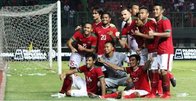 Timnas Indonesia Tekuk Brunei 4 - 0