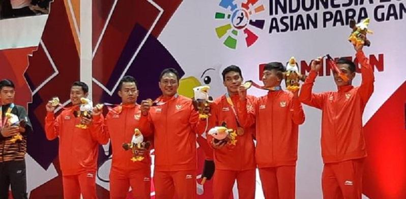 Asian Para Games: Badminton Beregu Raih Emas Pertama