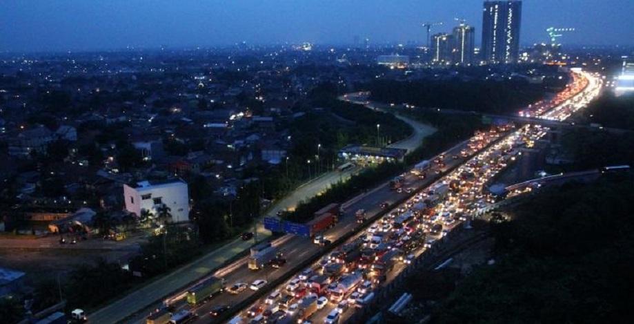 H-7 hingga H-5, 553.000 Mobil Tinggalkan Jakarta