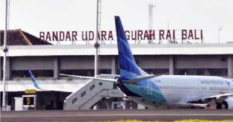 Penerbangan di Bandara Ngurah Rai Dibatalkan