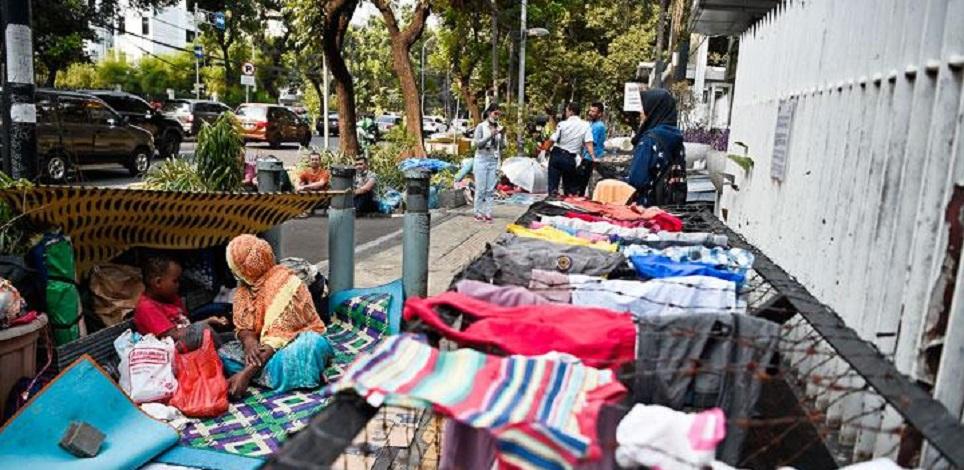 Pencari Suaka Terkatung-katung di Jakarta