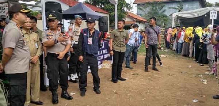 Pilkades di Tangerang Dipantau Kapolda Banten