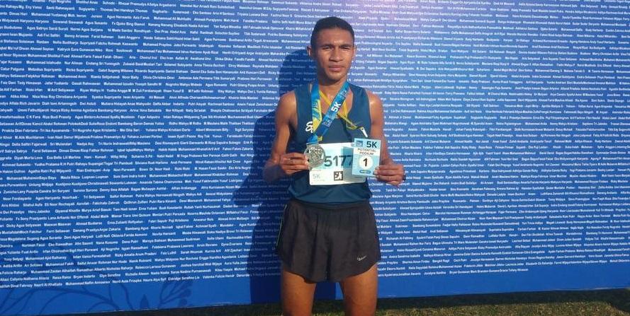Atlet DKI Juara 5K Kudus Relay Marathon