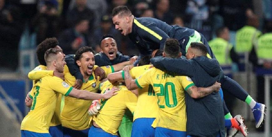 Brasil Lolos Final Copa America