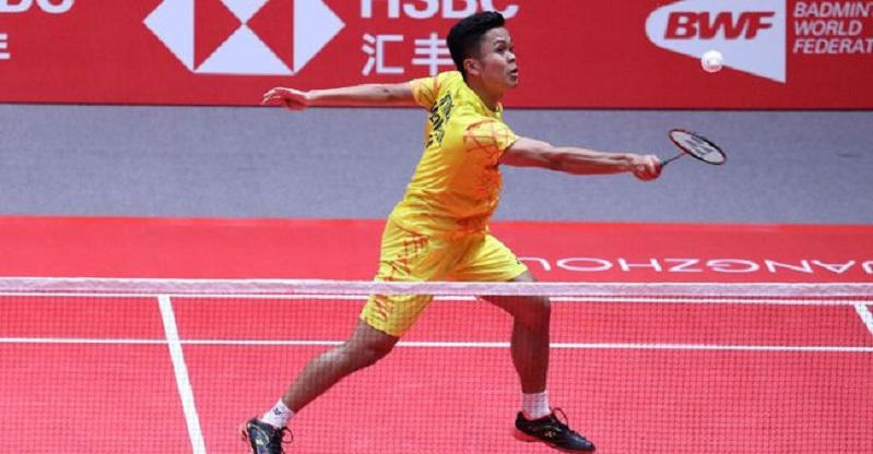 Malaysia Masters, Anthony Ginting Lolos 16 Besar