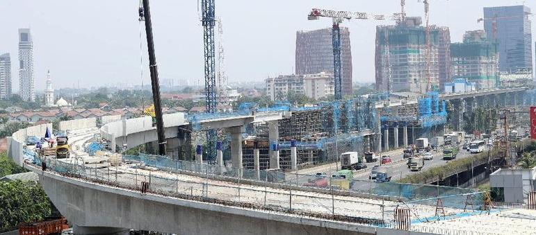 Proyek MRT Jakarta Capai 30%
