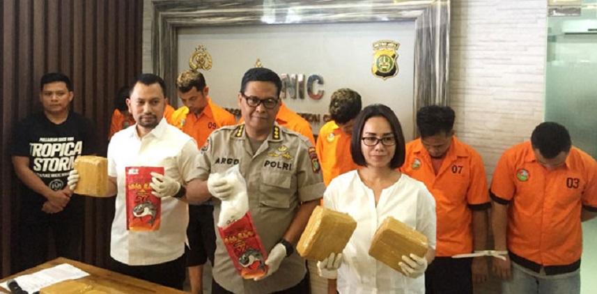 Sabu dalam Bungkus Abon Lele Disebar di Hotel Mangga Besar
