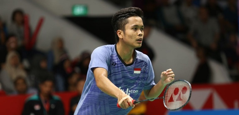 BWF World Tour: Anthony Ginting Tembus Peringkat 4 Dunia