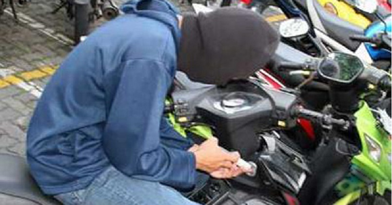 Maling Motor masih Gentayangan di Jakarta