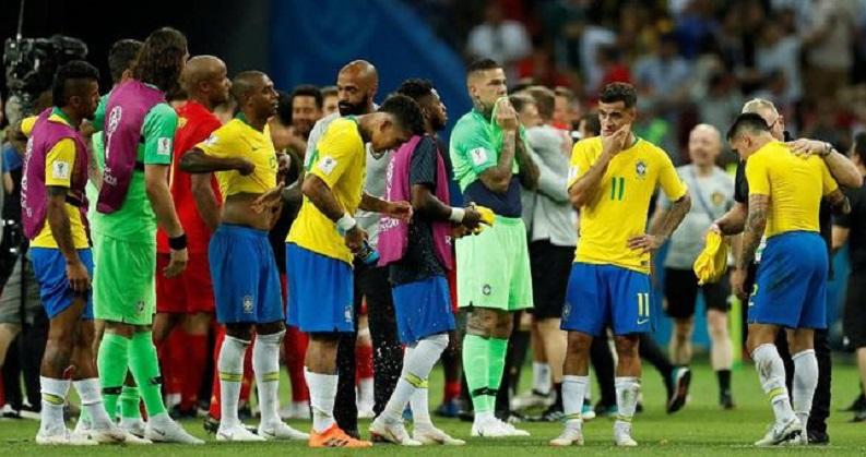Brasil Gagal ke Semifinal Piala Dunia
