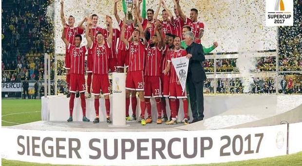 Bayern Juara Piala Super Jerman 2017
