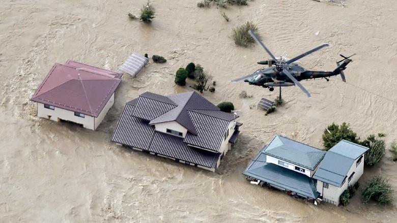 Tak Ada WNI Jadi Korban Badai Hagibis di Jepang