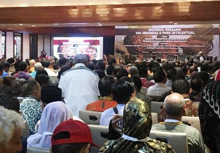300 Jenderal Dukung Prabowo-Sandi Paslon No 02