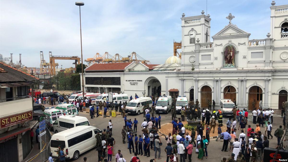 Korban Tewas Bom Sri Lanka Tembus 359 Orang
