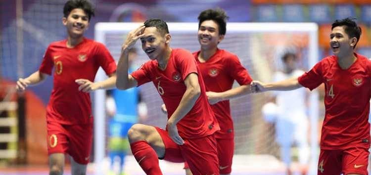 Kandaskan Irak, Timnas Futsal Indonesia Juara Grup