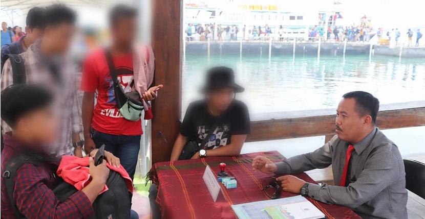 OTT Pembuang Sampah Sembarangan di Kep Seribu Hasilkan Rp 2 juta