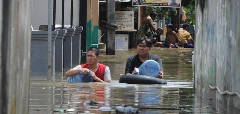 Banjir, 6.532 Warga Jakarta Ngungsi