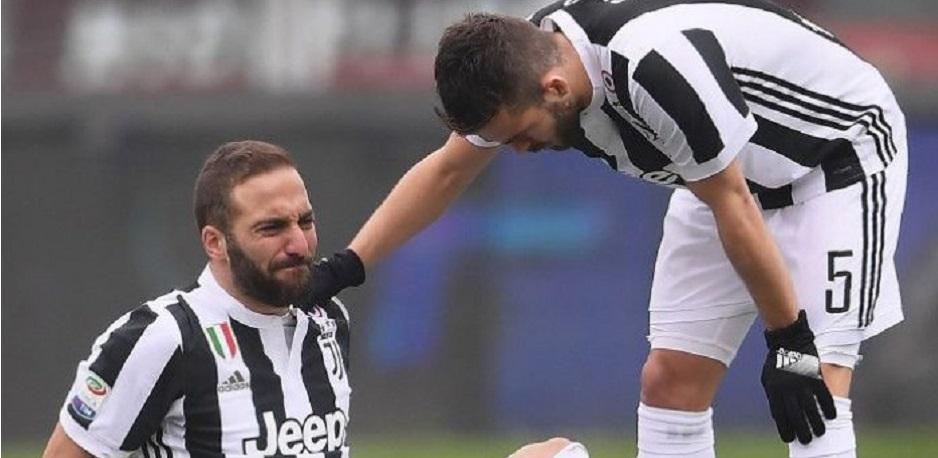 3 Pemain Inti Juventus Cedera Hadapi MU