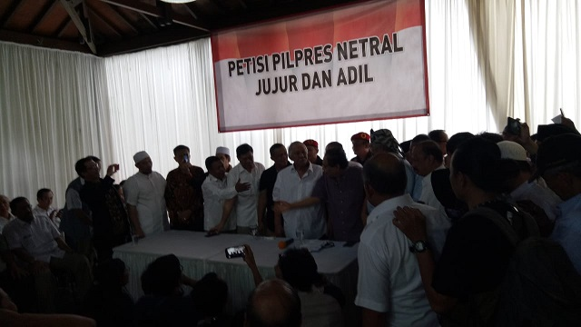 Ratusan Jenderal Sampaikan Petisi Pilpres Jurdil