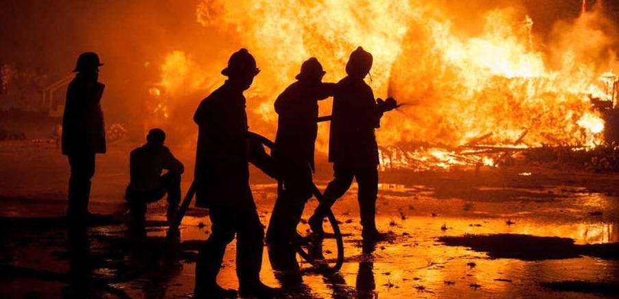 17 Rumah Warga Muara Baru Hangus Terbakar