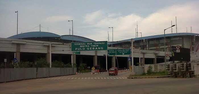 Mirip Rumah Hantu, Terminal Bus Pulogebang Sepi Menyeramkan