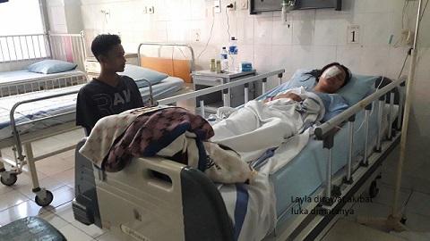 HT Polisi Robek Mata Anak Yatim di Purworejo