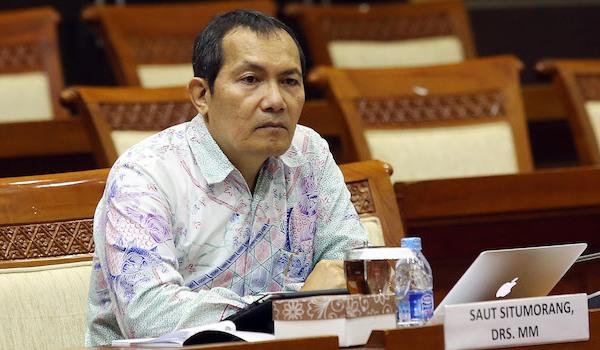 Saut Situmorang Mengundurkan Diri dari Pimpinan KPK