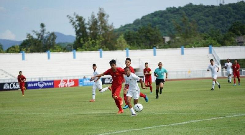 Timnas  U-15 vs Timor Leste Berakhir Seri