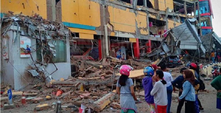 Gempa dan Tsunami Palu, Korban Tewas Jadi 405 Orang