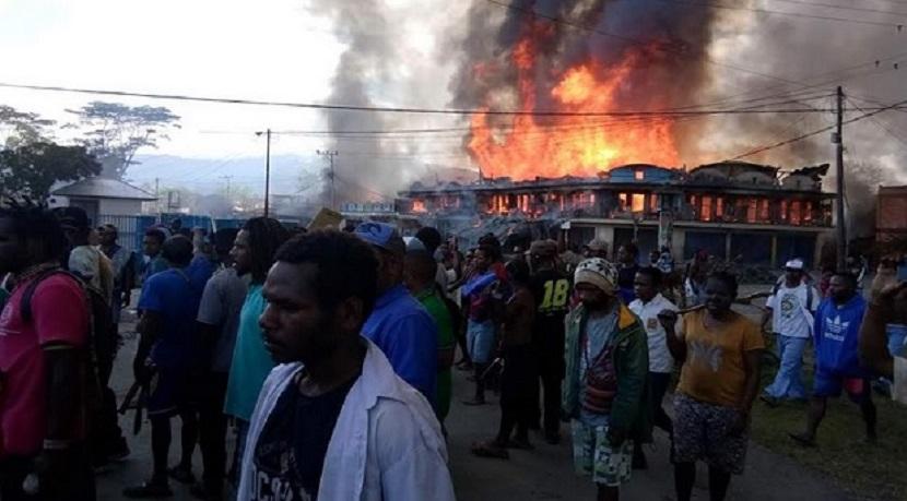 Papua Kembali Rusuh