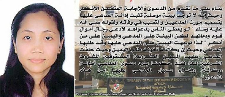 TKI Bebas dari Hukuman Mati di Saudi