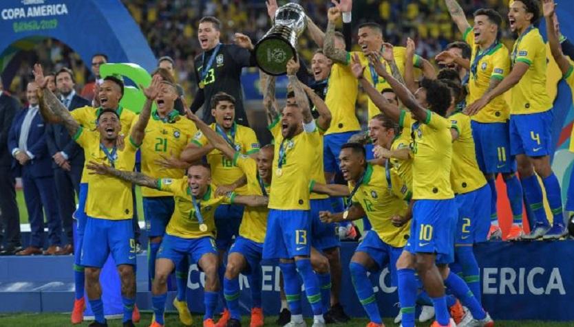 10 Pemain, Brasil Juara Copa America 2019