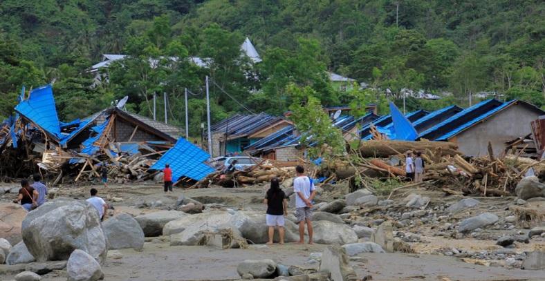 89 Orang Tewas Akibat Banjir Sentani Papua