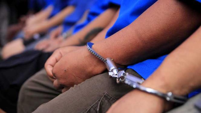 Rencana Bakar Kampung, 12 Pemuda Diringkus