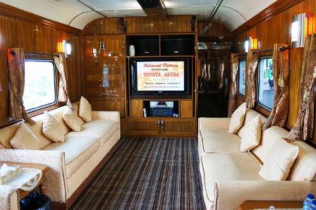 Kereta Wisata, Transportasi Mudik Paling Aman & Nyaman