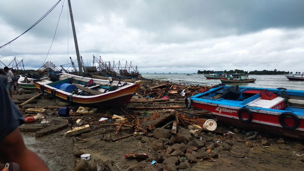 Tsunami Selat Sunda, 437 Orang Meninggal Tsunami