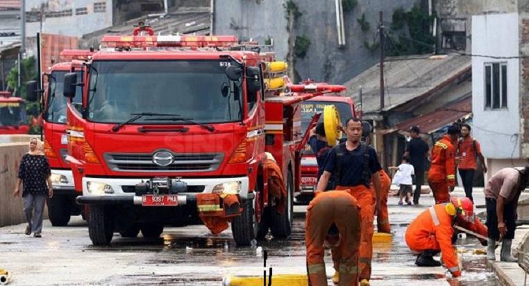Sauna Hotel Ciputra Jakarta Dilalap Api