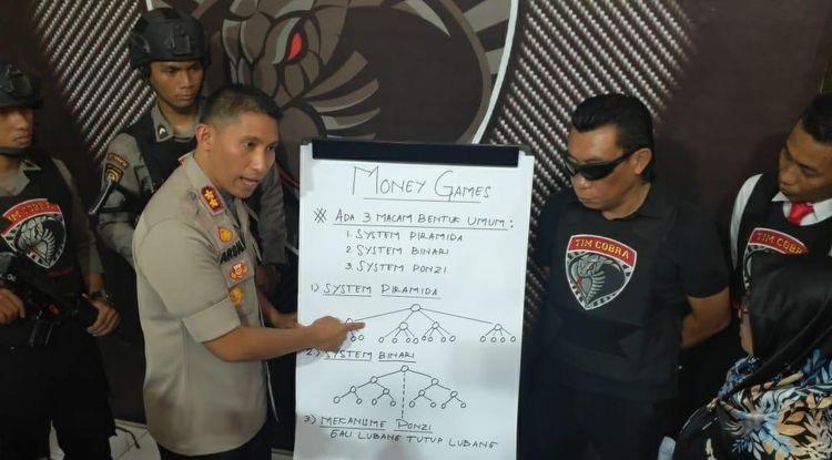 Usut Anak Hilang, Tim Cobra Polres Lumajang malah Ungkap Money Game