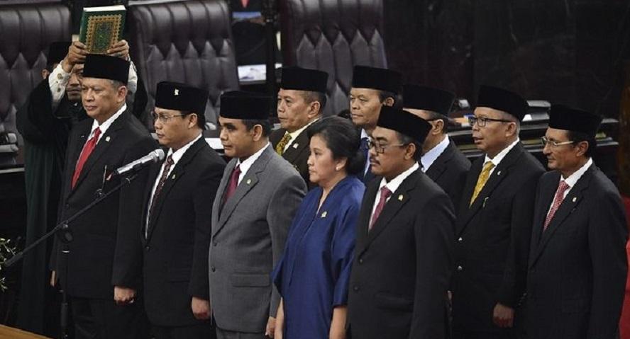 Mantan Ketua DPR Terpilih Jadi Ketua MPR