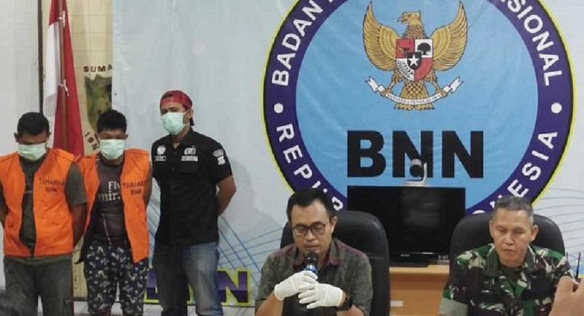 BNN: 3 Kurir Bawa 76 KG Ganja Ditangkap Di Jambi